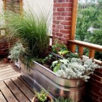 Patio Potted Garden Example